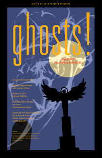 GHOSTS Collectible Signed Poster